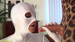 busty babe rough fucked in skin tight spandex catsuit