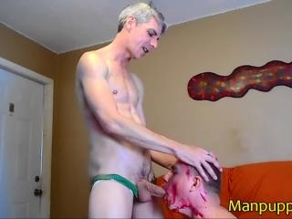 Body Paint Blowjob Twink Humiliation - Leo Blue - Richard Lennox - Manpuppy