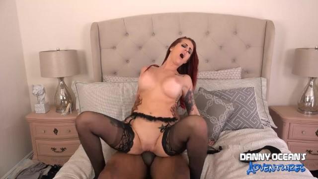 DOCEAN Tana Lea Creampied by Black Dick 1