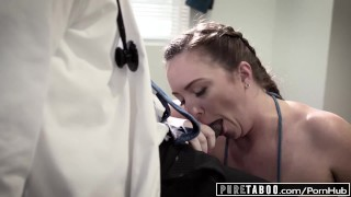 Pure at maddy taboo o'reilly exam into bbc anal exploited doctors interracial puretaboo