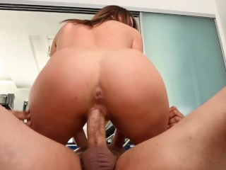 MY WIFES HORNY NAKED DAUGHTER HAS A FAT PUSSY - I HAVE TO FUCK IT