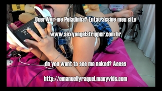 ASMR Novinha Safada Teen College Dirty Talk ENGLISH PORTUGUESE AND SPANISH
