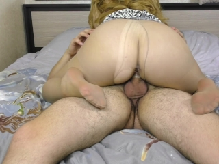AMATEUR BIG TEEN ASS GET FUCKED IN PANTYHOSE