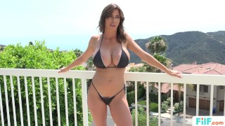 FILF - Stepmom Alexis Fawx Uses Stepson To Fulfill Her Sexual Needs Milf big