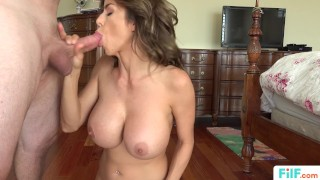 Filf alexis to her fulfill stepmom needs uses stepson sexual fawx stepson doggystyle