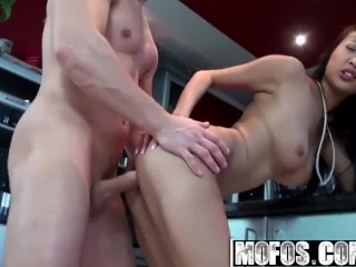 MOFOS - Sharon Lee Proves Asians Are Tight Especially In The Ass
