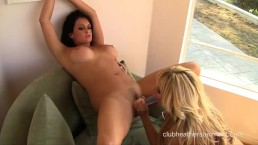 Heather Summers and friend get down and dirty