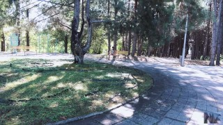 Public sex in a parc,she loves deepthroat and anal sex. Rough teen