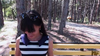 Public sex anal deepthroat loves a and sex in parcshe pov mouth