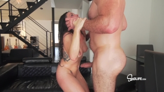 Manuel Ferrara fucks Kissa Sins with oil INTENSE Cocks fuck