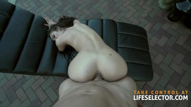 black girl naked in street