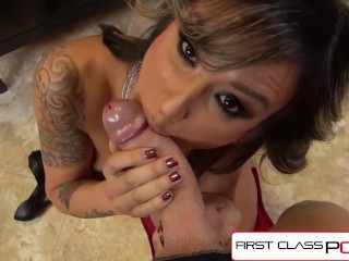 FirstClassPOV – Nadia Styles sucking a monster cock, big booty & big boobs