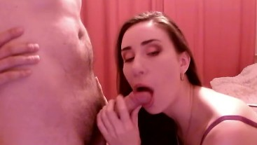 blow job on webcam