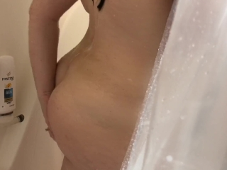 Spying on Stepsister in Shower