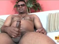 Chunky Black Stud Cash Montague
