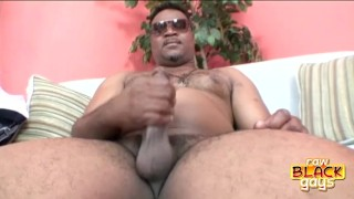 Chunky Black Stud Cash Montague Dick made