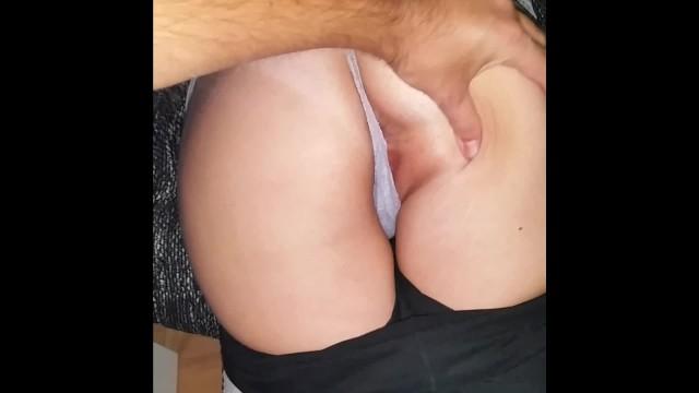 ass spank show get caught 1