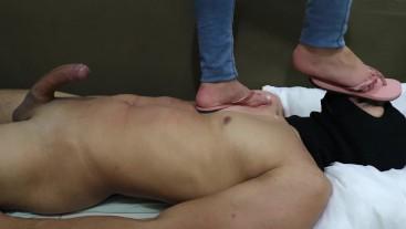 Goddess JMACC - Testing my new flip flop (Trailer)