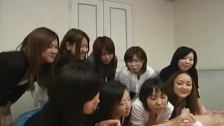 JAV CFNM Femdom Handjob Party Subtitled  masturbation bdsm femdom masturbate cfnm jav kink japanese japan group audience zenra subtitles subtitled