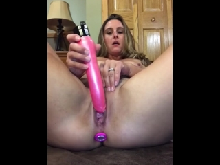 Hot Lonely Housewife Fucked My Pussy Good With Plug In Loud Multiple Orgasm
