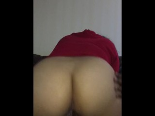 Big Booty Asian Riding BBC.