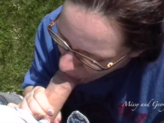 Oops! I Blew My Load In Her Mouth! Cubs Fan Sucks Dick POV