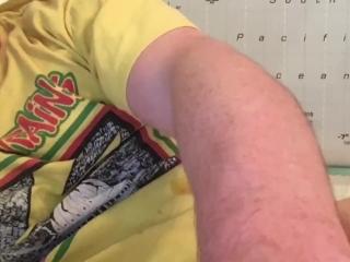 Was My Third Cumshot of the Day! Got a Cum Rating by Femdom Camgirl CEI