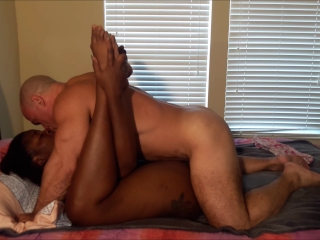 Licking, dry hump and creampie