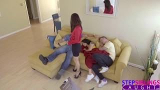 StepSiblingsCaught - Cumming Inside My StepSis During Movie! S8:E1 Bbc shares
