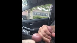 Jerking Off in the Parking Lot at Pier 1 Imports