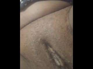 Playing with my pussy part #2 (shaved)