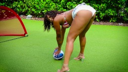 BTS PHOTO SHOOT IN MIAMI SOUTH BEACH BIG BOOTY TWERKING & LIL BOOTY MATTER