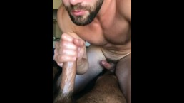 Griffin Barrows getting raw fucked by Crawford, frotting and cumming