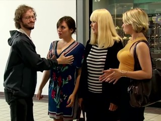 Just For Laughs Gags - Bra Shopping Breast Examination