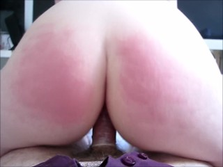 Fine ass bouncing - Fucked reverse cowgirl