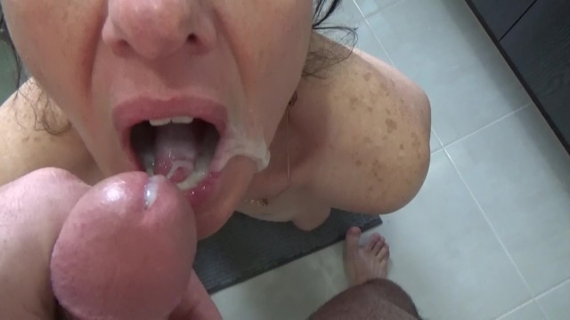 How much cum is normal Failed swallow, too much cum in my mouth
