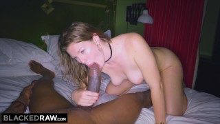 BLACKEDRAW GF cheats with the BIGGEST cock she's EVER seen Fingering haired