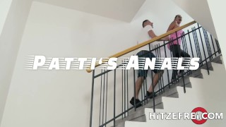 HITZEFREI Tatjana Young ass fucked by a young stud while masturbating