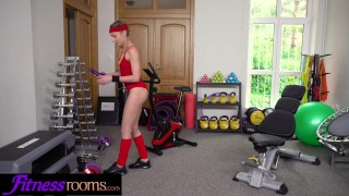 French angel personal trainer fitness by emily face rooms fucked blonde sports angelo
