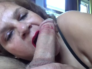 OOPS...I Got LipStick On Your Cock!
