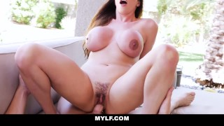 MYLF - Smoking Hot Mature Brunette Filled Up By Pool Boy  ariella ferrera colombian melons boobs hairy creampie wife mom busty milf bigtits mylf mature cougar mother horny housewife big boobs huge tits