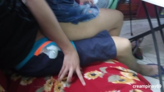 Pinay Teen Doing Homework Ends with Cumshot  horny couple pinay scandal kantot creampie couple scandal pinay young sex scandal sarap doggy student sex horny teenager libog