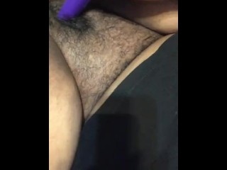 cumming on my vibrator