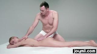 JOYMII- orgasmic massage for blonde model Nancy A