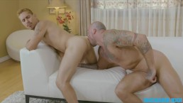 RICHARD XXX Flip Fuckers Workout buddies take turns working each other out