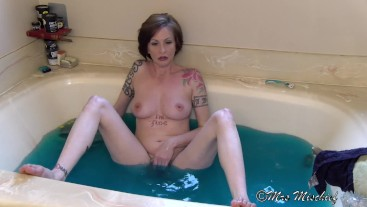 Bathtub Sex Talk with Stepmom - Mrs Mischief taboo mom pov