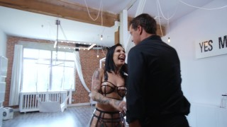 Joanna Angel Anal Cream Pie