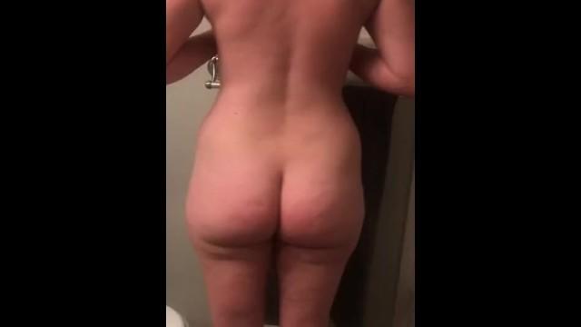 Amateur;Big Ass;Big Tits;Brunette;MILF;Exclusive;Verified Amateurs;Solo Female amateur, strip, wife-strip, oil, body-oil, big-tits, big-ass, masterbate