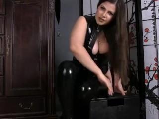 KM - Latex Sissy Faggot