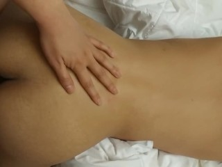 Asian Riding Cock from Behind Doggystyle